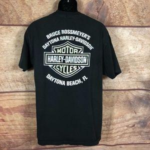 Harley Davidson Dayton Beach FL Mens T Shirt Large